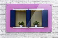 Windows in Burano  Acrylic Print