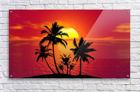 tropical 1651423  Acrylic Print