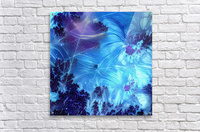 Abstract Blue Colors  Acrylic Print