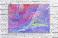 Abstract Mauve wave  Acrylic Print