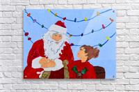 Christmas Eve. David K  Acrylic Print