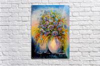 A bouquet of blue flowers  Acrylic Print