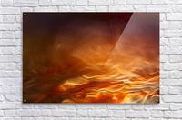 Burning water  Acrylic Print
