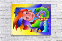 Fasettonia - colourful spirit  Acrylic Print