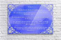Psalm 23 1BL  Acrylic Print