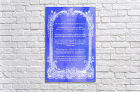 Psalm 23 7BL  Acrylic Print