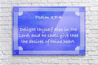 Psalm 37 4 2BL  Acrylic Print
