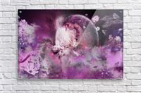 free your mind lady  Acrylic Print