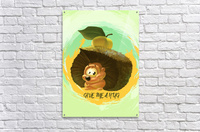 Cute Hedgehog  Acrylic Print