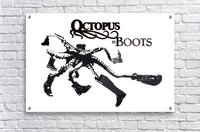 Octopus in Boots  Acrylic Print