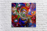 Vortex of Colors  Acrylic Print
