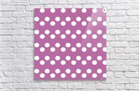 Bodacious Polka Dots  Acrylic Print