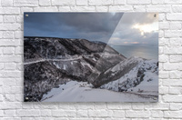 Snowy Skyline  Acrylic Print