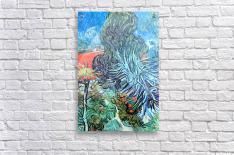 The garden of Dr. Gachet by Van Gogh  Acrylic Print