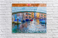Afternoon Light in Venice Canal  Acrylic Print