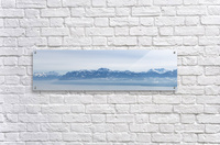 Lake Geneva and Alps  Acrylic Print
