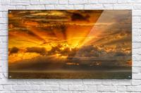 Polynesian Sunrise  Acrylic Print