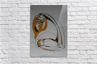 13 C  Acrylic Print