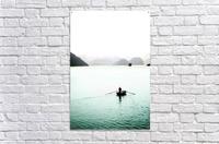 Ha Long Bay Fishing  Acrylic Print