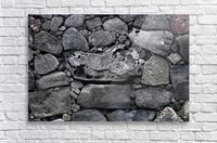 Lava brick  Acrylic Print
