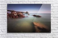 Mumbles pier Swansea  Acrylic Print