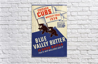 1938 Chicago Cubs Program Cover  Acrylic Print