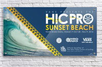 2016 VANS HIC PRO SUNSET BEACH Competition Print  Acrylic Print