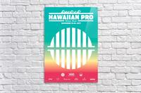 2017 HAWAIIAN PRO Surf Competition Print  Acrylic Print