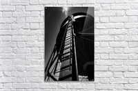 Water Tower BnW  Acrylic Print