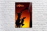 Africa sunrise  Acrylic Print