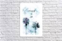 Modern Art TAKE ME TO THE SEA | jazzy watercolor  Acrylic Print