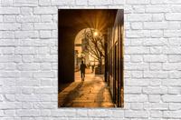 Silhouette  Tower Bridge London  Acrylic Print