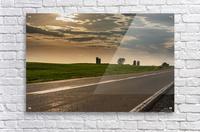 A twilight on the road  Acrylic Print