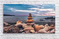 Rock balancing   Acrylic Print
