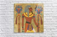 egyptian tutunkhamun pharaoh design  Acrylic Print
