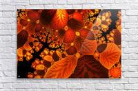 leaf autumn nature background  Acrylic Print