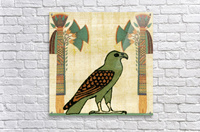 egyptian paper papyrus bird  Acrylic Print