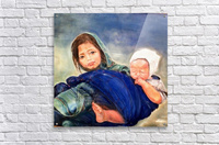 Child raising a Child  Impression acrylique