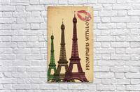 france paris paris france city  Acrylic Print