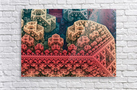fractals 3d graphics designs    Acrylic Print