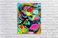 Color Elephant  Acrylic Print