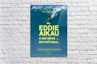 2017 QUIKSILVER - EDDIE AIKAU Big Wave Invitational Surfing Competition Print  Acrylic Print