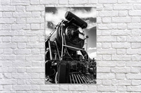 Canadian Steam Locomotive 6015 B  Acrylic Print