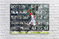 ANDREW BENINTENDI Water Color Print - Boston Red Sox Print  Acrylic Print