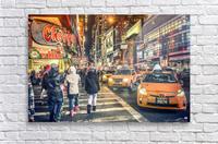 New York City Taxi Mayhem   Acrylic Print