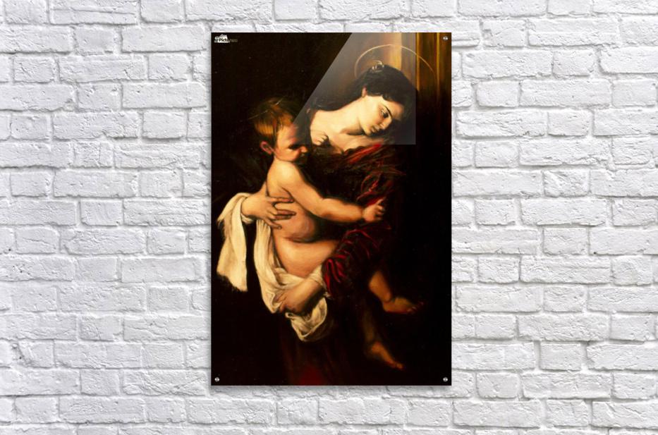 Virgin Mary and Child  Acrylic Print