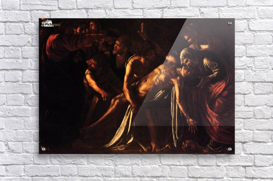 The ressurection of Lazarus  Acrylic Print