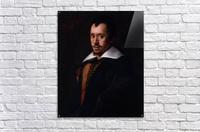 Portrait of the Poet Giambattista Marino  Acrylic Print