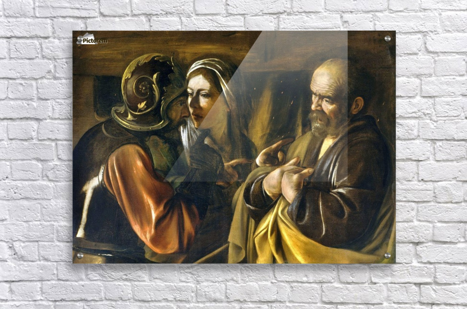 The Denial of Saint Peter  Acrylic Print