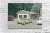 The Ice Cream Shop - Newtown Scenes  12 x 16   Acrylic Print